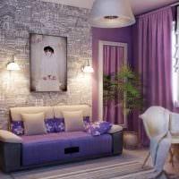 вариант яркого декора спальной комнаты для девочки в современном стиле фото