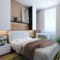 вариант красивого стиля спальни для молодого человека фото