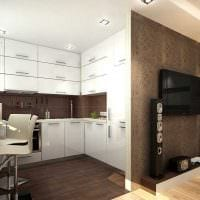 вариант яркого стиля двухкомнатной квартиры картинка