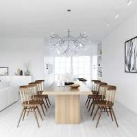 вариант красивого стиля комнаты в скандинавском стиле картинка