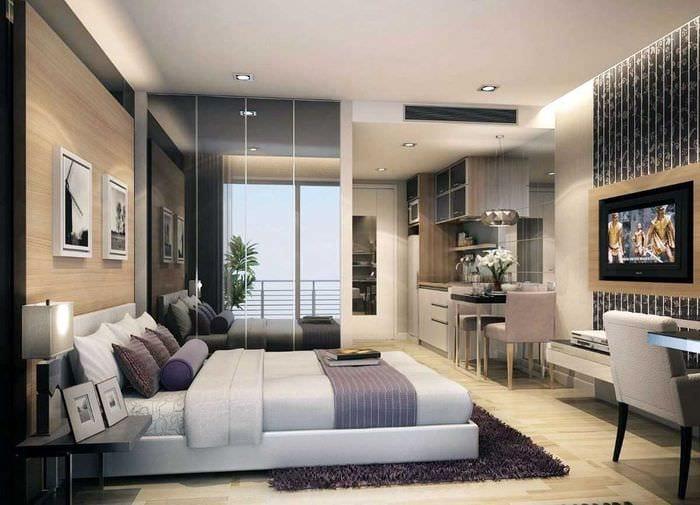 идея красивого дизайна квартиры