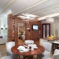 вариант яркого стиля гостиной в частном доме фото