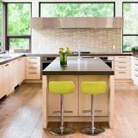 идея применения яркого бежевого цвета в дизайне квартиры
