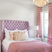 идея использования розового цвета в светлом декоре квартире фото