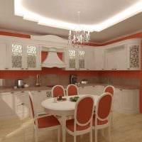 идея применения светового дизайна в красивом декоре квартиры фото