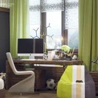 идея красивого стиля спальной комнаты для молодого человека картинка