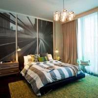 идея необычного интерьера спальной комнаты для молодого человека картинка