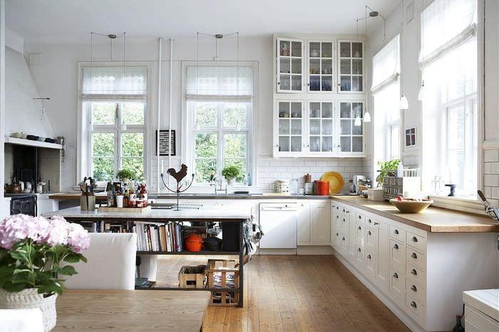 идея яркого стиля комнаты в скандинавском стиле