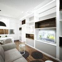 вариант яркого сочетания цвета в стиле современной квартиры фото