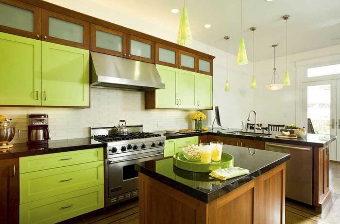 идея светлого сочетания цвета в декоре современной квартиры