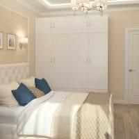 идея яркого интерьера двухкомнатной квартиры фото