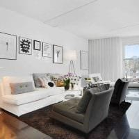 идея светлого стиля комнаты в скандинавском стиле фото