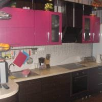 пример красивого дизайна кухни 9 кв.м картинка
