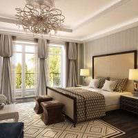 вариант красивого стиля спальной комнаты для девочки в современном стиле фото