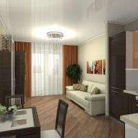 идея яркого стиля квартиры студии картинка