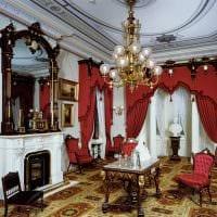 идея светлого декора дома в романском стиле фото