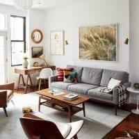 идея необычного стиля комнаты в советском стиле фото