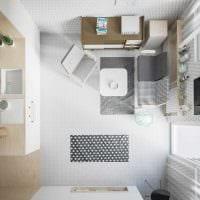 идея красивого дизайна маленькой комнаты фото