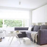 идея необычного стиля спальни гостиной картинка