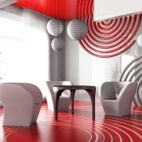 вариант красивого сочетания цвета в дизайне современной квартиры фото
