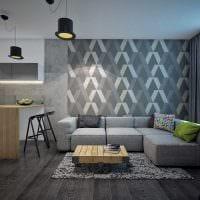 идея яркого сочетания цвета в стиле современной комнаты картинка