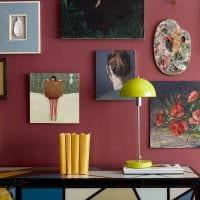 вариант необычного сочетания цвета в дизайне современной комнаты картинка