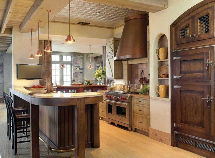 идея необычного стиля дома в романском стиле