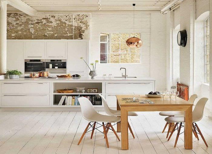 идея необычного стиля квартиры в скандинавском стиле