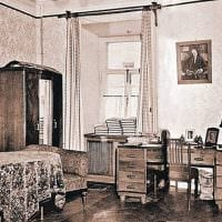 идея необычного стиля квартиры в советском стиле фото