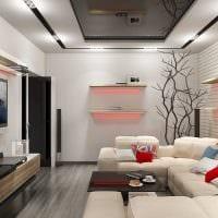 идея красивого стиля маленькой комнаты в общежитии картинка