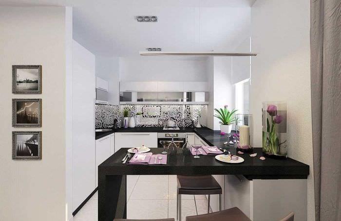 идея применения красивого стиля кухни