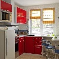 идея использования светлого декора кухни картинка