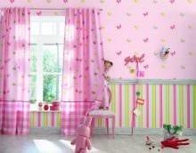 пример применения розового цвета в красивом интерьере квартире фото