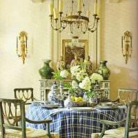 идея использования русского стиля в светлом интерьере комнате фото