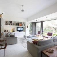 пример необычного стиля двухкомнатной квартиры картинка