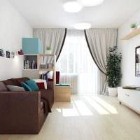 вариант светлого декора двухкомнатной квартиры картинка