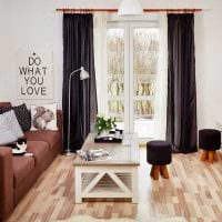вариант светлого стиля двухкомнатной квартиры картинка
