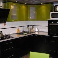 идея красивого дизайна кухни 14 кв.м картинка
