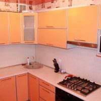 идея необычного декора кухни 8 кв.м фото