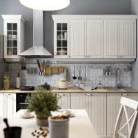 вариант яркого стиля кухни 9 кв.м картинка