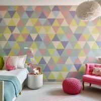 пример красивого современного интерьера детской комнаты фото