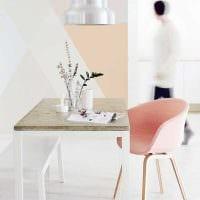 вариант использования розового цвета в ярком декоре квартире фото