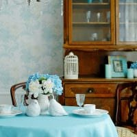идея применения русского стиля в необычном дизайне квартире фото