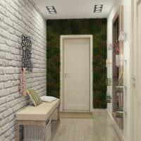 пример использования необычного интерьера комнаты в стиле ретро фото