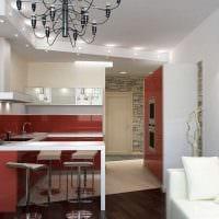 идея необычного декора кухни 14 кв.м картинка