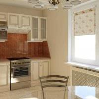 идея светлого стиля кухни 8 кв.м картинка