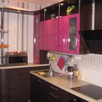идея необычного декора кухни 9 кв.м фото