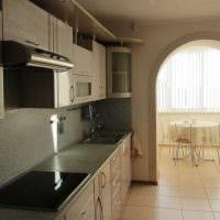 пример необычного дизайна кухни 14 кв.м картинка