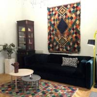 идея интересного дизайна комнаты в советском стиле фото