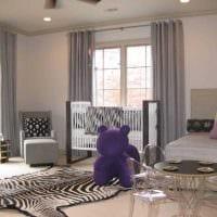 идея применения интересного бежевого цвета в дизайне квартиры